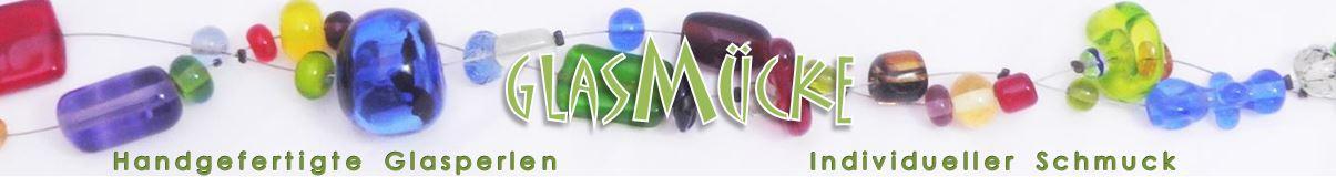Glasmücke - handgefertigte Glasperlen, individueller Schmuck